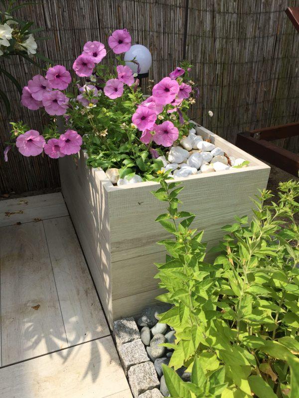 Blumenkübel aus 40x80 cm 2