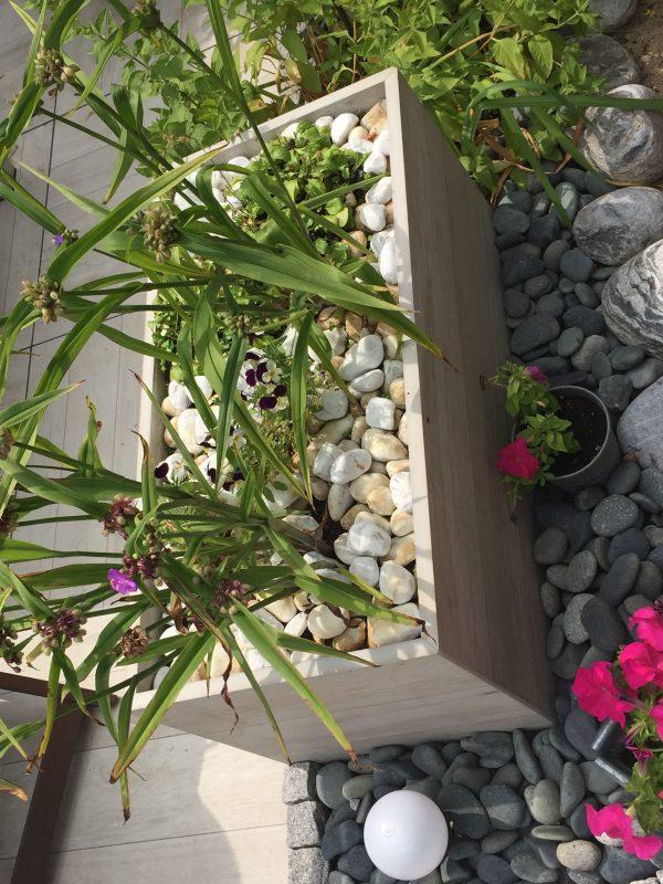 Blumenkübel aus 40x80 cm 3